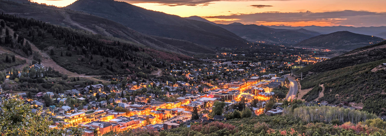 Park City Utah Sunset